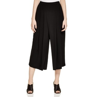 Eileen Fisher NEW Black Women's Size Medium M Silk Pleated Dress Pants
