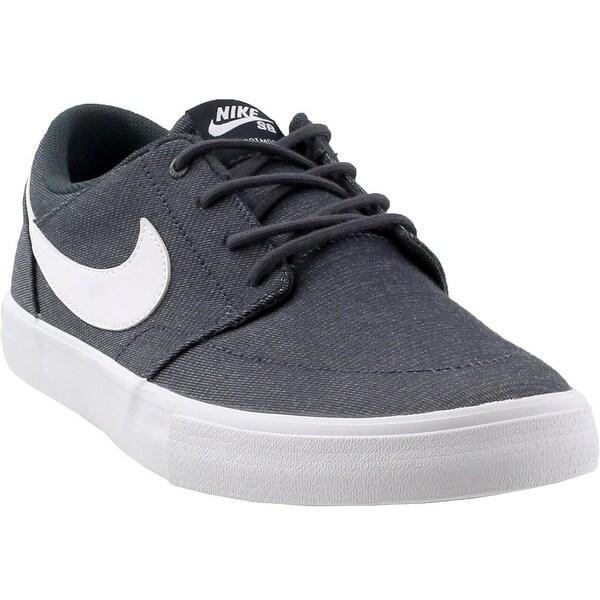 new styles b3266 48640 Nike Mens Sb Solar Portmore Ii Canvas Premium Athletic  amp  Sneakers