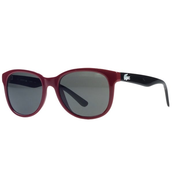 8ed7015a317 Shop Lacoste L3603 S 615 Red Rectangle Kids Sunglasses - 48-17-130 ...
