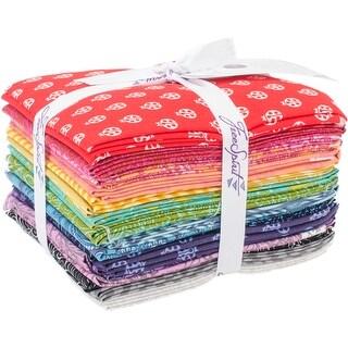 """True Colors-Tula Pink 18""""X21"""" Fat Quarters-20Pcs"""
