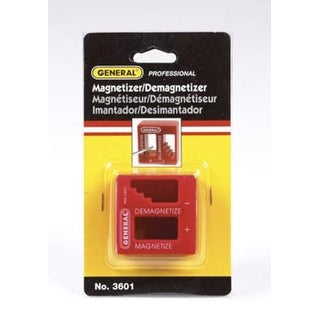 "General 3601 Professional Magnetizer/Demagnetizer, 2"" x 2"" x 1-1/8"""