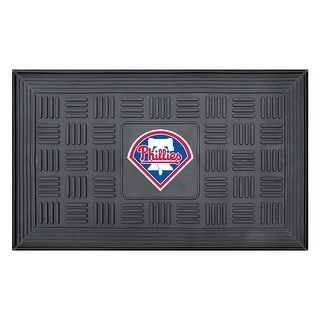 Philadelphia Phillies Medallion Door Mat