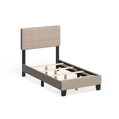 Taylor & Olive Tuxbury Upholstered Twin Platform Bed