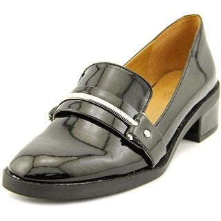 Nine West Chasin Round Toe Synthetic Loafer