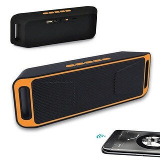 Indigi® NEW Bluetooth Portable Speaker Wireless Bass Stereo for PC Tablet Rechargeable
