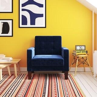 Link to Avenue Greene Wilder Velvet Chair Similar Items in Living Room Chairs