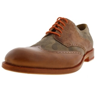 Trask Mens Camouflage Wingtip Oxfords