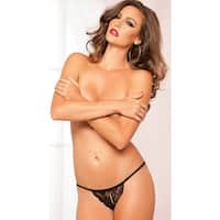 Tina Thong, Lace Thong - One Size Fits most