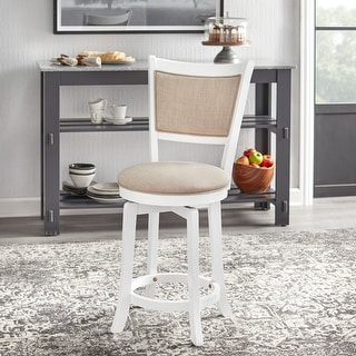 Link to Simple Living French Country 22-inch Counter Height Swivel Bar Stool Similar Items in Dining Room & Bar Furniture