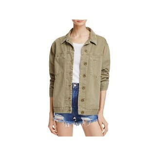 French Connection Womens Perret Jacket Utility Lightweight