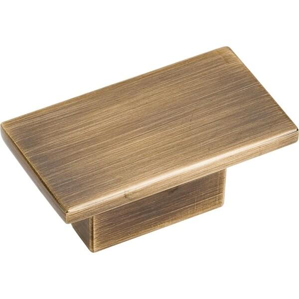 Jeffrey Alexander 81021 Mirada 1-9/16 Inch Long Rectangular Cabinet Knob