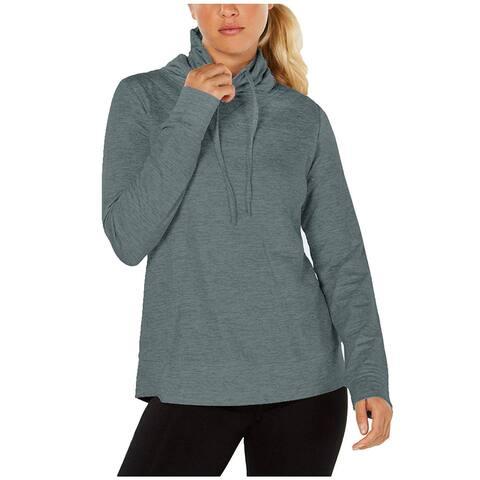 32 Degrees Women's Funnel Neck Drawstring Long Sleeve Pullover