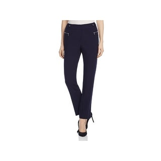 Calvin Klein Womens Dress Pants Flat Front Straight Fit