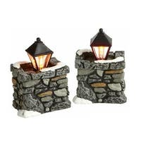 Department 56 Accessories for Villages Limestone Lamps