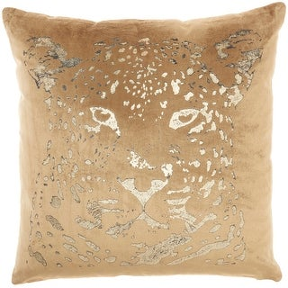 "Link to Mina Victory Sofia  Beige/Gold Throw Pillow , ( 20""X20"" ) Similar Items in Decorative Accessories"