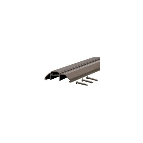 """M-D Building Products 10017 36"""" Deluxe High Threshold with Vinyl Seal (Bronze) - Bronze - N/A"""