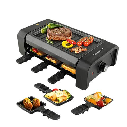Electric Tabletop Non-Stick Grilling Surface Adjustable Temperature