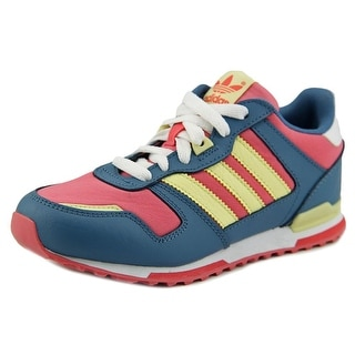 Adidas ZX 700k Round Toe Leather Sneakers