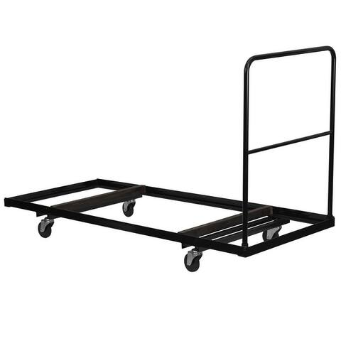Folding Table Dolly for 30''W x 72''D Rectangular Folding Tables