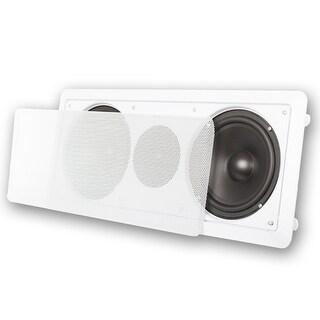 """Acoustic Audio CC6 In-Wall 6.5"""" Center Channel Speaker In Ceiling 300 Watt"""