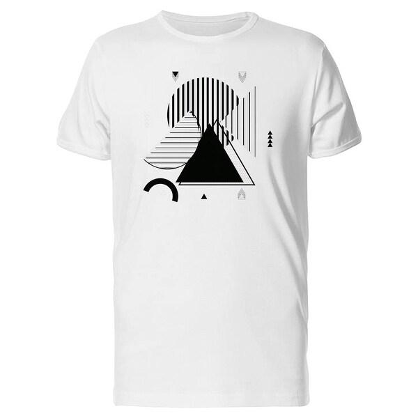 Accordion Geometric Tee Shirt Short Sleeve Shirts