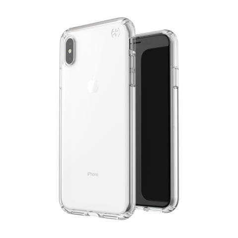 Speck Presidio Stay Clear Designed for Impact Case for iPhone XS Max - Clear