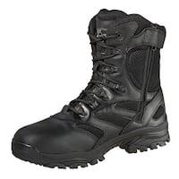 Thorogood Work Boots Mens Commando Uniform Side Zip Black 834-6219