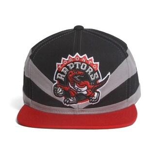 Toronto Raptors Mitchell & ness Slash Cut & Sew Snapback