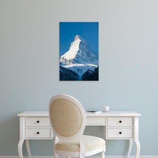 Easy Art Prints Walter Bibikow's 'The Matterhorn' Premium Canvas Art