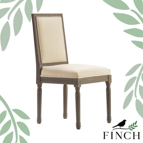 Finch Avignon Square Side Chair (Set of 2), Vintage Cream