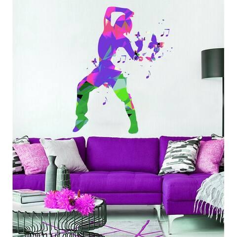 Dancer Wall Decal, Dancer Wall sticker, Dancer wall decor, Dancer Wall Art