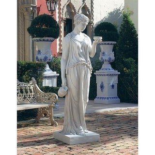 Design Toscano Hebe, the Goddess of Youth Sculpture: Estate