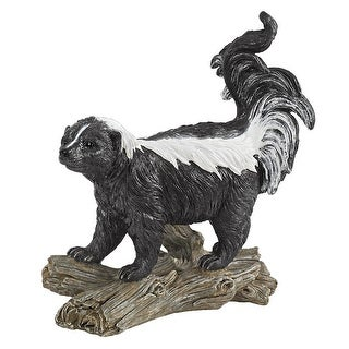 Design Toscano Stinky the Striped Skunk Statue