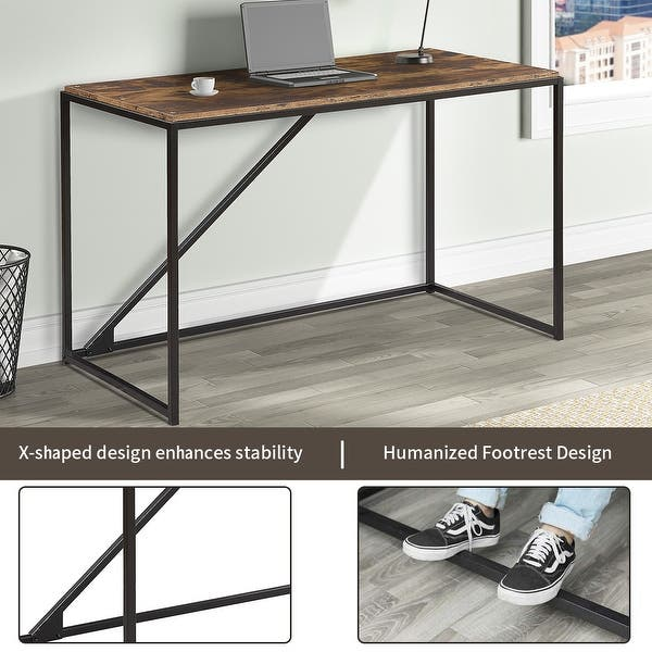 46 Inch Home Office Computer Desk Overstock 31969842