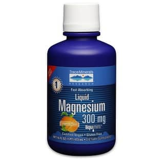 Trace Minerals Research Liquid Magnesium 16 fl oz 300 mg - 32 Servings - Tangerine - Vegan - Muscle Health - Gluten Free|https://ak1.ostkcdn.com/images/products/is/images/direct/9b1944bf425ce869f30cf08e0c4c961f2d6fe203/Trace-Minerals-Research-Liquid-Magnesium-16-fl-oz-300-mg---32-Servings---Tangerine---Vegan---Muscle-Health---Gluten-Free.jpg?impolicy=medium