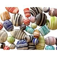 Stanislaus Imports Shiny Marble Beads, 4 oz