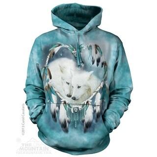 Wolf Heart Hoodie Adult Hoodie