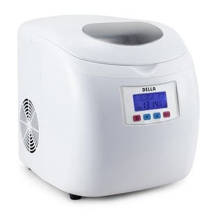 Della Deluxe Ice Maker LCD Display Portable- 3 Cube Sizes Yield Up To 26 Pounds of Ice Daily -White|https://ak1.ostkcdn.com/images/products/is/images/direct/9b1b13b3d3586ab4ac0161da3f60d48a1c701287/Della-Deluxe-Ice-Maker-LCD-Display-Portable--3-Cube-Sizes-Yield-Up-To-26-Pounds-of-Ice-Daily--White.jpg?impolicy=medium