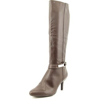 Alfani Jemsey Wide Calf Women Round Toe Synthetic Knee High Boot