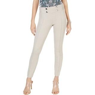 Link to I-N-C Womens Tab Front Casual Leggings Similar Items in Pants