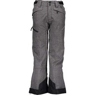 Obermeyer Boys Pants Heather Gray Size Medium M Snow Outdoor Parker