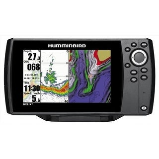 "Humminbird Helix 7 Chirp DI/GPS G2 Combo 7"" Color TFT Display Fishfinder/Chartplotter"