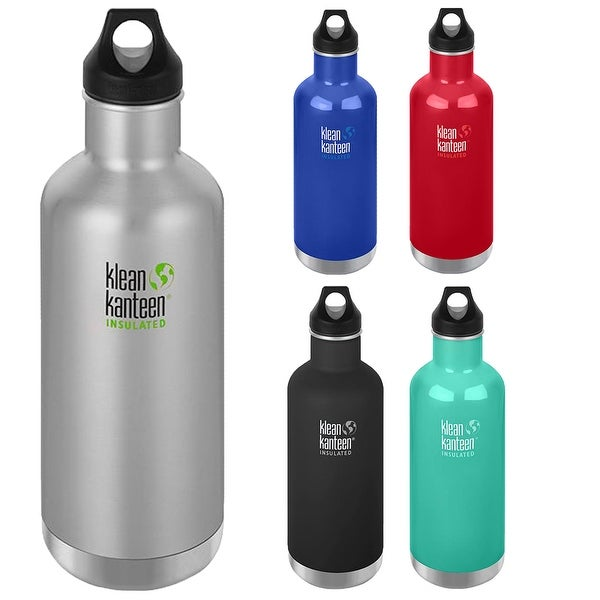 0f84c6887f Shop Klean Kanteen Classic 32 oz. Insulated Bottle with Loop Cap - Free  Shipping On Orders Over $45 - Overstock - 22914670