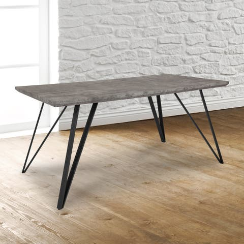 """Distressed Rectangular Dining Table - 31.5""""W x 63""""D x 29.25""""H"""