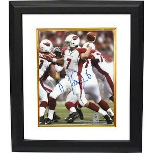 Matt Leinart signed Arizona Cardinals 16X20 Photo Custom Framed- Leinart Hologram