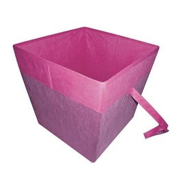Homebasix 05000953P Storage Bin, Purple