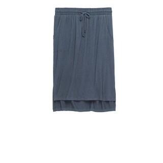 Bobeau Tie Waist Relaxed Skirt