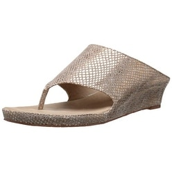 Tahari Women's TA-Mindy Wedge Sandal