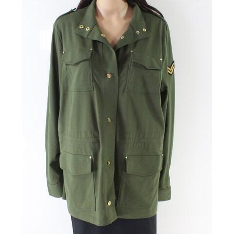 Lauren by Ralph Lauren Women's Military Jacket
