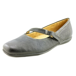 Trotters Simmy Women Round Toe Leather Black Mary Janes